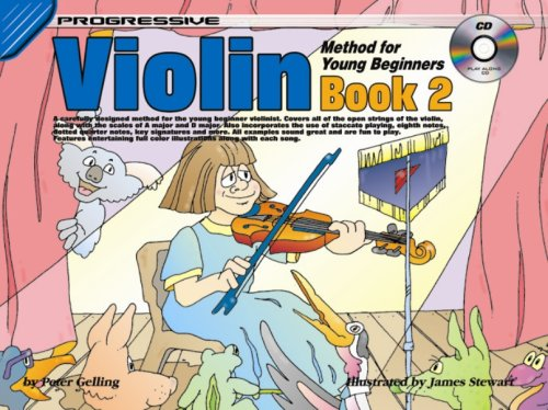 9781864692037: CP69203 - Progressive Violin Method for Young Beginners Book 2 Book/CD