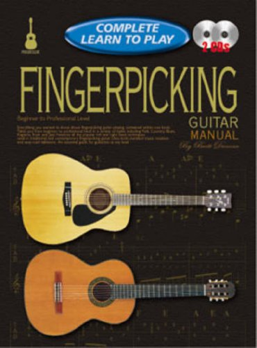 9781864692365: CP69236 - Progressive Complete Learn to Play Fingerpicking Guitar Manual
