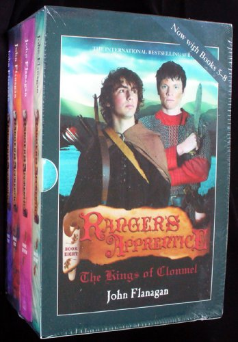 9781864719260: Ranger's Apprentice Books 5-8 Box Set (Sorcerer in the North,The Siege of Macindaw,Erak's Ransom,The Kings of Clonmel)