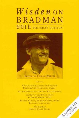 9781864980110: Wisden on Bradman