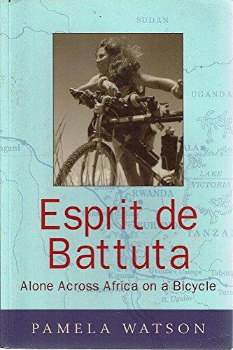 9781864980653: Esprit de Battuta : Alone Across Africa on a Bicycle
