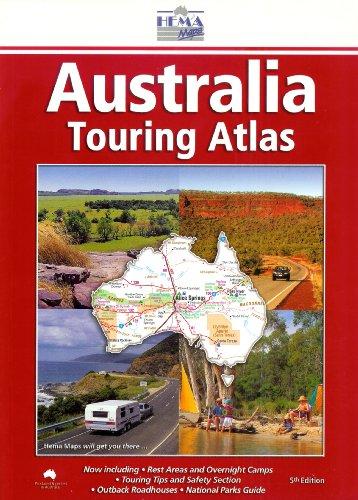 Australia Touring Atlas Perfect: Collectif