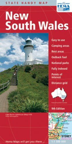 9781865002309: New South Wales Handy Map
