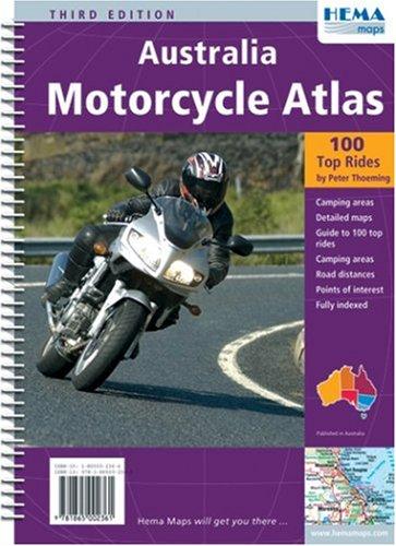 9781865002361: Australia Motorcycle Atlas