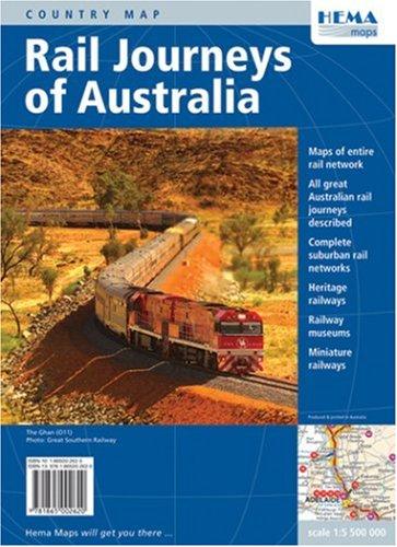 9781865002620: Australia Rail Journeys