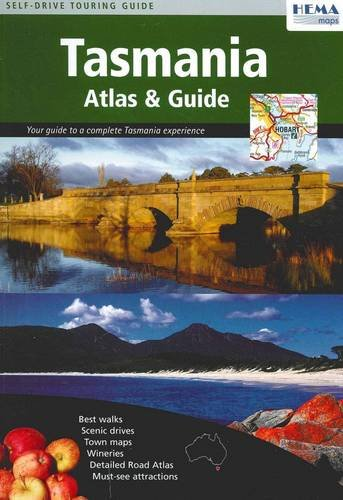 9781865005300: Tasmania Atlas And Guide: Your Guide to a Complete Tasmania Experience