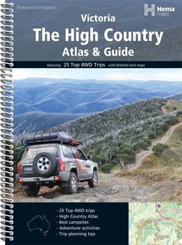 High Country Atlas and Guide: Hema Maps Staff