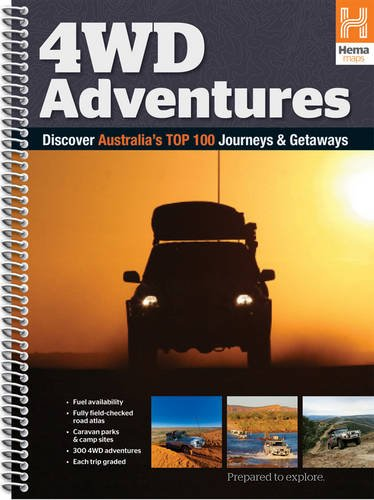 9781865006192: Australia 4WD Adventures Atlas: HEMA.A.042SP