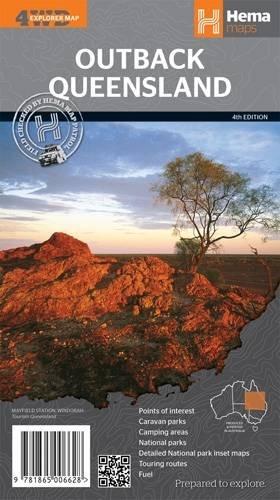 Queensland Outback 1 : 1.500 000: Hema Maps