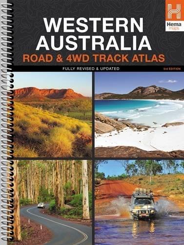 9781865007328: Western Australia 4WD Track Atlas A4 Spiral 2015: HEMA.A.DIS28SP