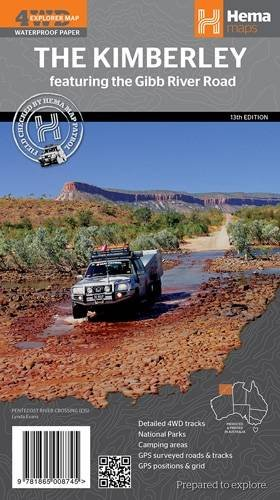 9781865008745: Kimberley (Gibb River Road) 2014: HEMA.2.105