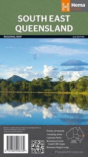 Queensland South East National Park 1 : 500 000
