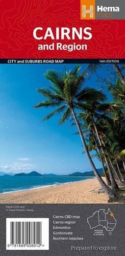 9781865008912: Cairns & Region Handy 2014: HEMA.4.10H