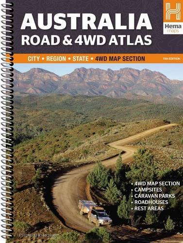 Australia Road & 4WD Atlas Spiral 2015: