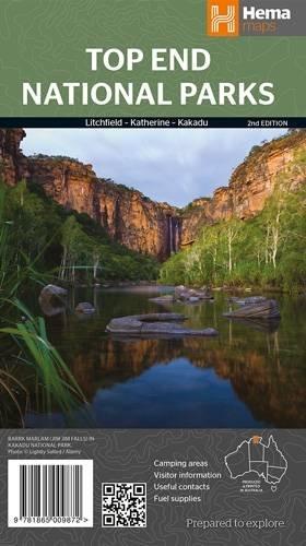 9781865009872: Top End NP R/V HEMA Litchfield-Katherine-Kakadu 2014: HEMA.2.290