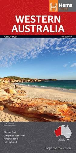 Western Australia State National Park Handy Map 1 : 2.500.000