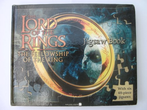 """The """" Lord of the Rings """" Jigsaw Book: """" The Fellowship of the Ring """": The Five..."""