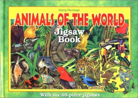 Animals of the World Jigsaw Book (Jigsaw
