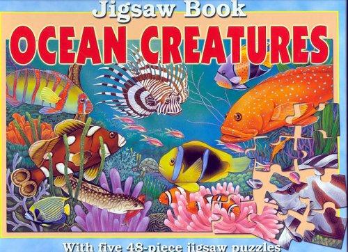 Ocean Creatures Jigsaw Book: Lee Krutop