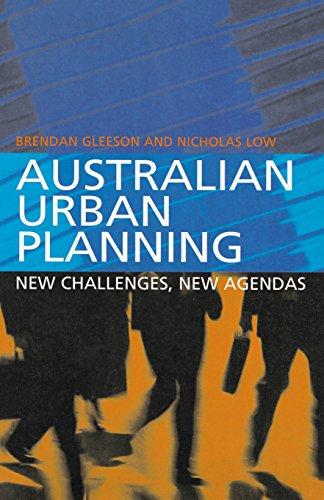 9781865082387: Australian Urban Planning: New Challenges, New Agendas
