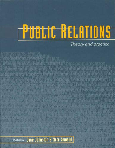 9781865083605: Public Relations: Theory and Practice