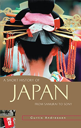 9781865085166: A Short History of Japan: From Samurai to Sony (A Short History of Asia series)