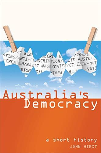 9781865088457: Australia's Democracy: A Short History