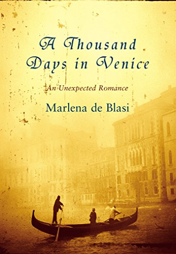 9781865089362: A Thousand Days in Venice: An Unexpected Romance