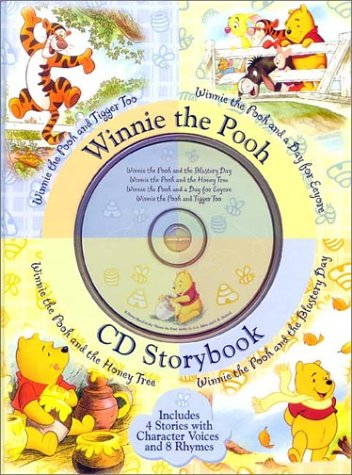 Winnie the Pooh CD Storybook (4-In-1 Disney Audio CD Storybooks): Milne, A.A.; Shepard, E.H.