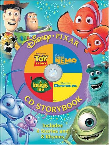 Disney, Pixar CD Storybook (4-In-1 Disney Audio CD Storybooks): Disney