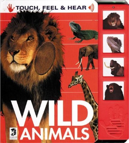 9781865155906: Wild Animals: Touch, Feel, and Hear (Touch, Feel & Hear)