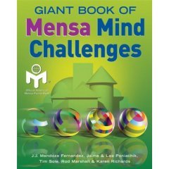 9781865157146: Giant Book of Mensa Mind Challenges
