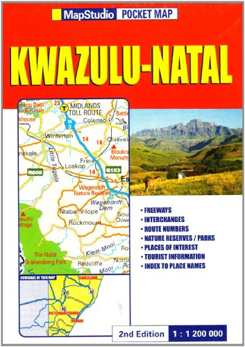 KwaZulu-Natal Pocket Map
