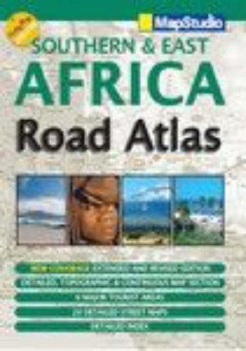 Southern and East Africa Road Atlas: MapStudio