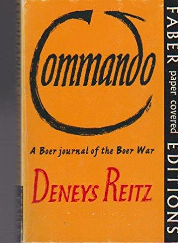 9781868124084: Commando: A Boer Journal of the Boer War