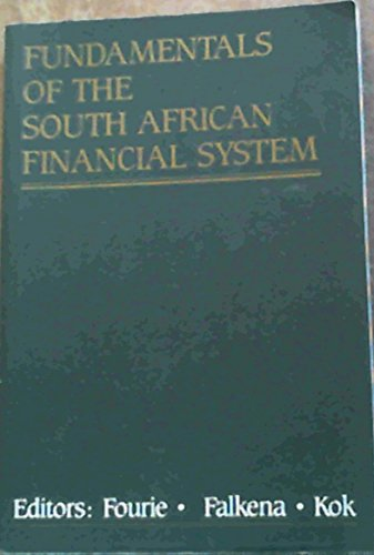 9781868124374: Fundamentals of the South African financial system