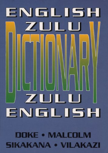 9781868141609: English-Zulu/Zulu-English Dictionary