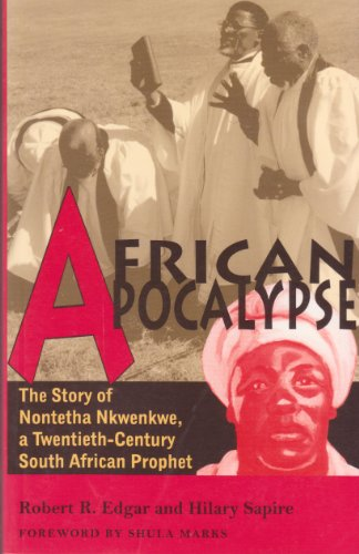 9781868143375: African Apocalypse: The Story of Nontetha Nkwenkwe, a Twentieth-Century South African Prophet