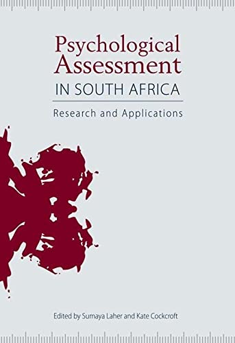 9781868145782: Psychological Assessment in South Africa: Research And Applications
