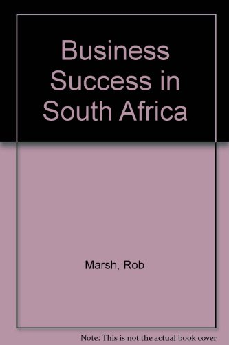 9781868252312: Business Success in South Africa