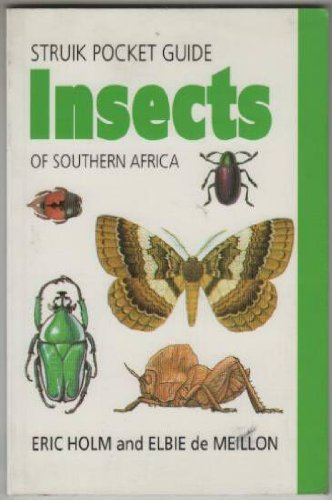 9781868258314: Insects of Southern Africa (Struik pocket guides)