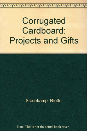 9781868263042: Corrugated Cardboard: Projects and Gifts