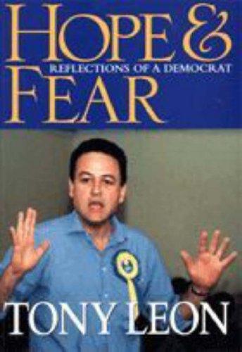 9781868420704: Hope & Fear Reflections of a Democrat