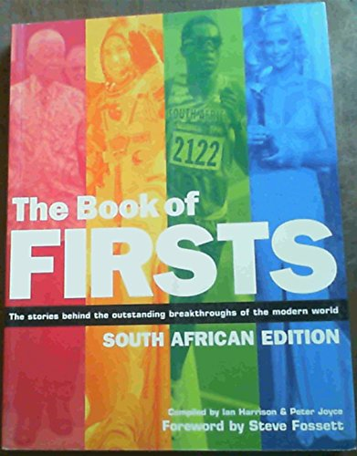 Book of Firsts South African: Harrison, Ian : Joyce, Peter