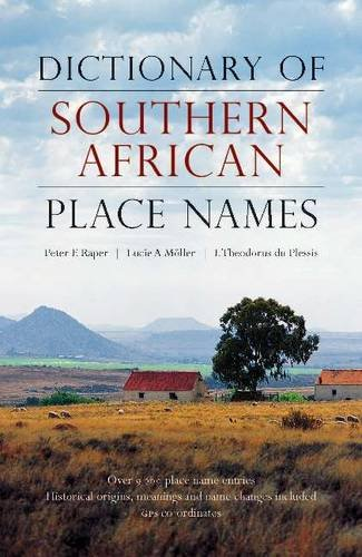 9781868425495: Dictionary of Southern African Place Names