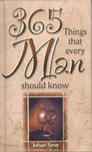 9781868526529: 365 Things That Every Man Should Know