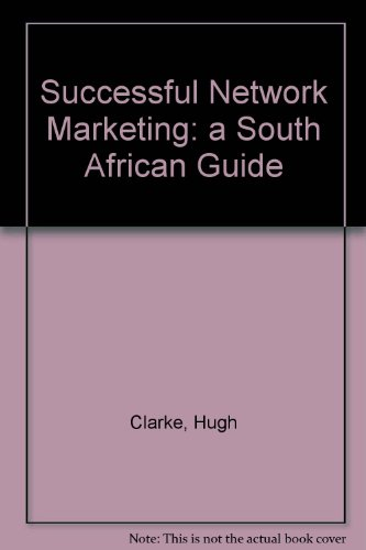9781868700110: Successful Network Marketing: a South African Guide