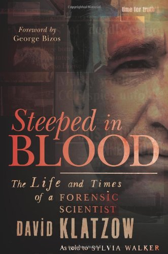 9781868729227: Steeped in Blood: The Life and Times of a Forensic Scientist