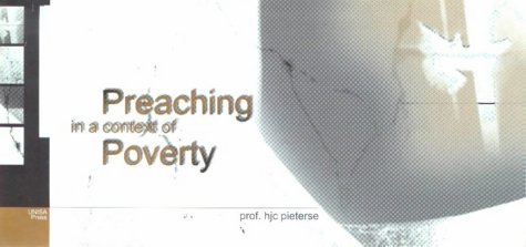 9781868881628: Preaching in a Context of Poverty