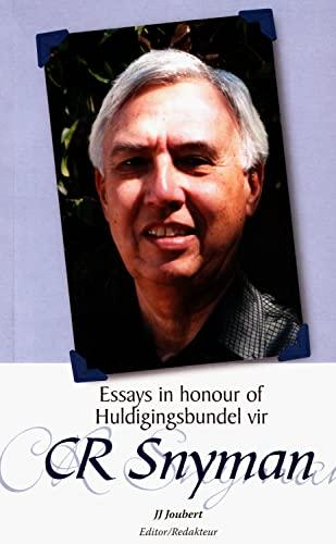 9781868884919: Essays in honour of CR Snyman / Huldigingsbundel vir CR Snyman